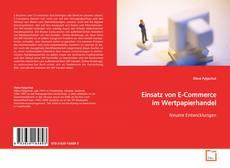 Capa do livro de Einsatz von E-Commerce im Wertpapierhandel