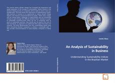 Couverture de An Analysis of Sustainability in Business