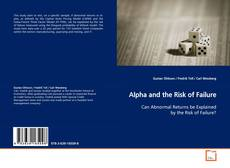 Bookcover of Alpha and the Risk of Failure