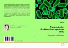 Couverture de Characterization of S-Ribosylhomocysteinase (LuxS)
