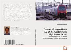 Control of Single-Phase AC-DC Converters with High Power Factor kitap kapağı