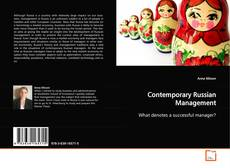 Bookcover of Contemporary Russian Management