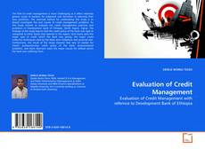 Couverture de Evaluation of Credit Management