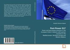 Copertina di Post-Power EU?