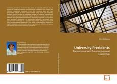 Bookcover of University Presidents