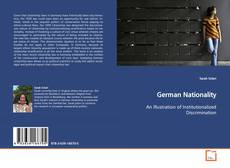 Bookcover of German Nationality