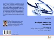 Buchcover von Kollegiale Führung im Krankenhaus