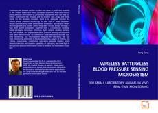 Обложка WIRELESS BATTERYLESS BLOOD PRESSURE SENSING MICROSYSTEM