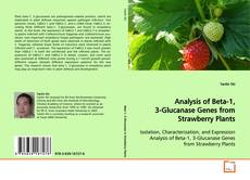 Bookcover of Analysis of Beta-1, 3-Glucanase Genes from Strawberry Plants