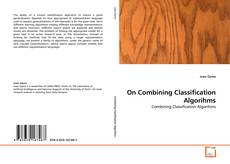 Bookcover of On Combining Classification Algorihms