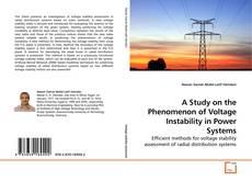 Capa do livro de A Study on the Phenomenon of Voltage Instability in Power Systems