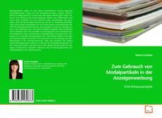 Bookcover of Zum Gebrauch von Modalpartikeln in der Anzeigenwerbung