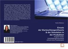 Bookcover of Einsatz der Warteschlangentheorie