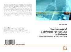 The Prospects of E-commerce for The SMEs in Malaysia kitap kapağı