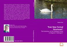 """Bookcover of """"Ever New Formal Structures"""":"""