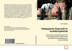 Capa do livro de Pädagogische Diagnostik im Ausbildungsbetrieb