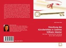 Portada del libro de Wandlung des Künstlerbildes in Goethes Wilhelm Meister