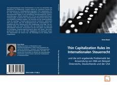 Capa do livro de Thin Capitalization Rules im Internationalen Steuerrecht