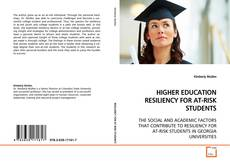 Buchcover von HIGHER EDUCATION RESILIENCY FOR AT-RISK STUDENTS