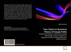 Обложка Two Topics in Quantum Theory of Gauge Fields