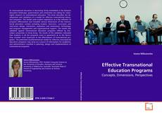 Portada del libro de Effective Transnational Education Programs