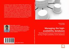 Обложка Managing the high-availability databases