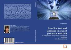 Bookcover of Graphics, text and language in a word processor interface