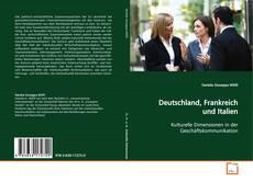 Buchcover von Deutschland, Frankreich und Italien