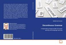 Bookcover of Discontinuous Grammar
