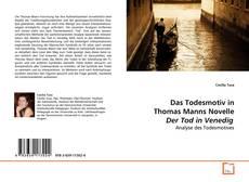 Portada del libro de Das Todesmotiv in Thomas Manns Novelle Der Tod in Venedig