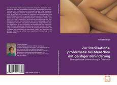 Zur Sterilisationsproblematik bei Menschen mit geistiger Behinderung的封面