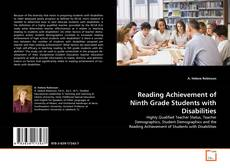 Bookcover of Reading Achievement of Ninth Grade Students with Disabilities