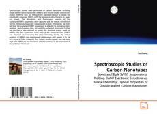 Capa do livro de Spectroscopic Studies of Carbon Nanotubes
