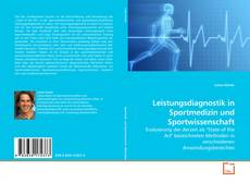 Bookcover of Leistungsdiagnostik in Sportmedizin und Sportwissenschaft