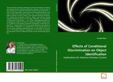 Copertina di Effects of Conditional Discrimination on Object Identification