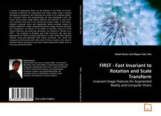 Capa do livro de FIRST - Fast Invariant to Rotation and Scale Transform