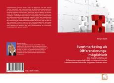 Capa do livro de Eventmarketing als Differenzierungs- möglichkeit