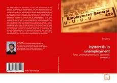 Bookcover of Hysteresis in unemployment