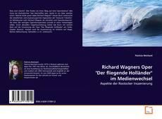 """Bookcover of Richard Wagners Oper """"Der fliegende Holländer"""" im Medienwechsel"""