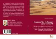 Europa auf der Suche nach seiner Identität? kitap kapağı