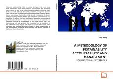 Bookcover of A METHODOLOGY OF SUSTAINABILITY ACCOUNTABILITY AND MANAGEMENT