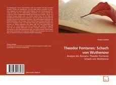 Portada del libro de Theodor Fontanes: Schach von Wuthenow
