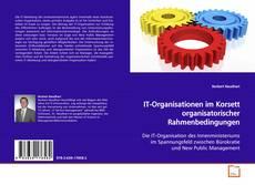 Bookcover of IT-Organisationen im Korsett organisatorischer Rahmenbedingungen