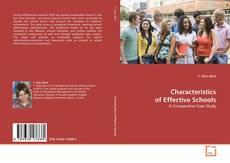 Couverture de Characteristics of Effective Schools