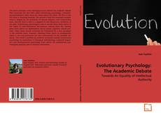 Portada del libro de Evolutionary Psychology: The Academic Debate