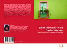 Bookcover of Italian loanwords in the English language