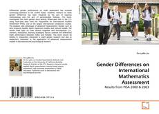 Bookcover of Gender Differences on International Mathematics Assessment
