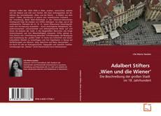 Copertina di Adalbert Stifters  'Wien und die Wiener'