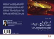 Buchcover von Der Handel mit gebrauchter Software und Softwarelizenzen