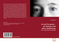 Couverture de Io non ho paura - ein Roman und seine Verfilmung